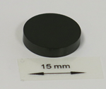 OrigaTip - Glassy Carbon Sample Pellet ø15x3