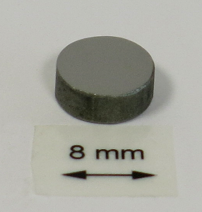 OrigaTip - Iron Sample Pellet ø8x3