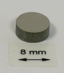 OrigaTip - Nickel Sample Pellet ø8x3